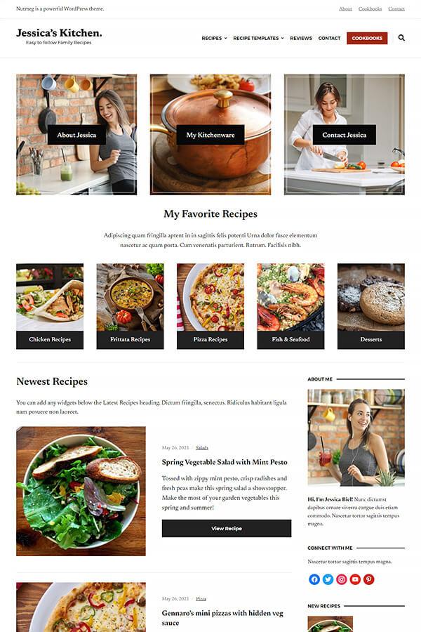 Nutmeg Plus Theme Demo: Pepper Demo